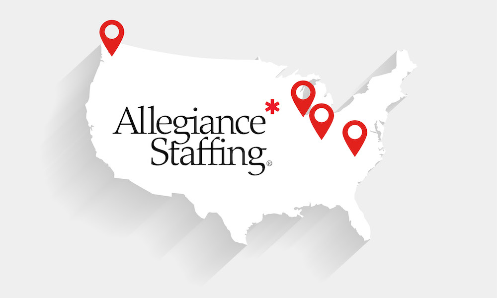 New Allegiance Staffing locations are ready to help employees find new jobs and employers staff their workforce today!